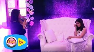 Push TV: Sharlene San Pedro becomes emotional during her debut