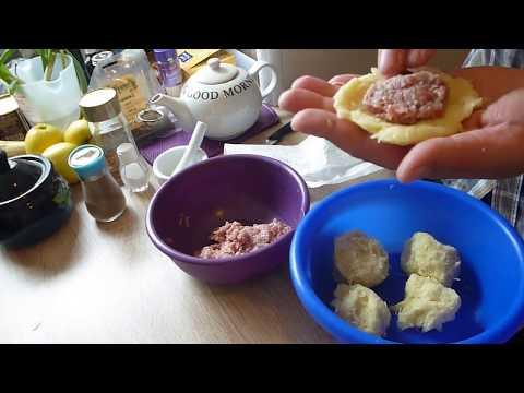 Колдуны из картошки с мясом