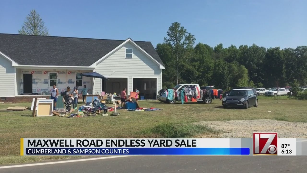 Maxwell Road Endless Yard Sale