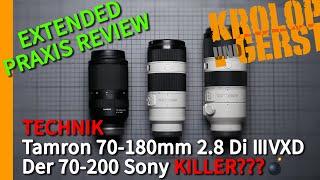 Tamron 70-180mm 2.8 Di III VXD Der 70-200mm Sony Killer??? 📷 Krolop&Gerst
