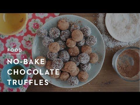 No-Bake Dessert: Chocolate Truffles
