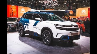 Top 5 all-new 2019 best  hybrid cars: review Paris Motor show 2018