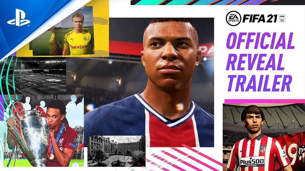 FIFA 21 Official Reveal Trailer s CZ titulky | Win As One ft. Kylian Mbappé | PS4