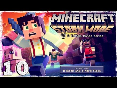Смотреть прохождение игры Minecraft Story Mode. #10: Новый план.