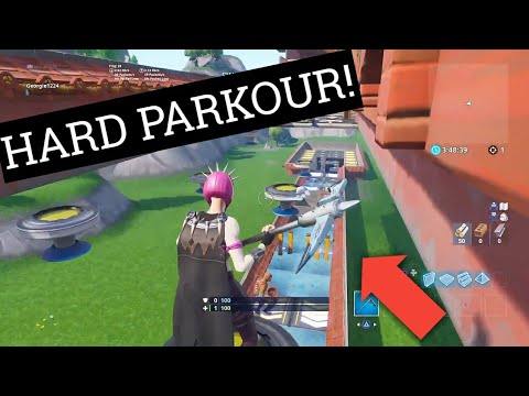 parkour codes fortnite