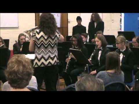 Sandwell Youth Concert Band at Hargate Primary - June 2014