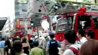 渋谷温泉爆発 #2 Bunkamura前 Tokyo spa explosion シエスパ 検索動画 26