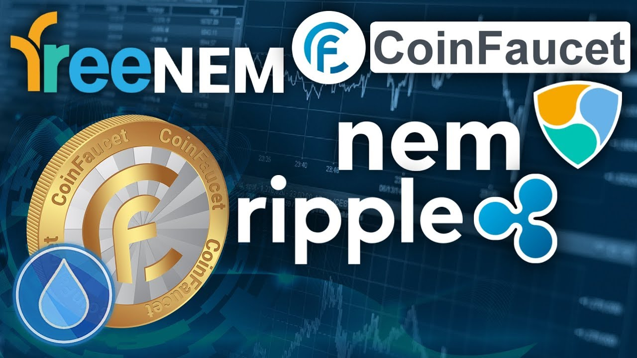 FreeNEM + CoinFaucet | NEM / XEM and Ripple / XRP Faucets - YouTube