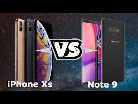 10 Reasons Why Galaxy Note 9 is Better Than iPhone XS / XS MAX!
