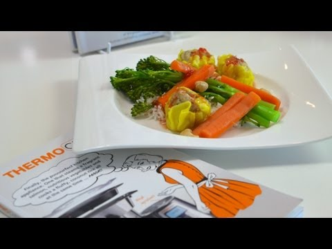 Easy Thermo Recipes, Steamed Dinner, Thermochef, Thermomix, 4 Ingredients, Kim McCosker