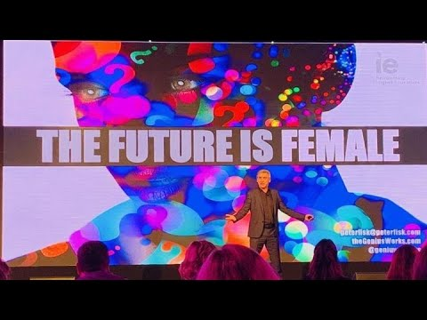 The Future is Female by Peter Fisk
