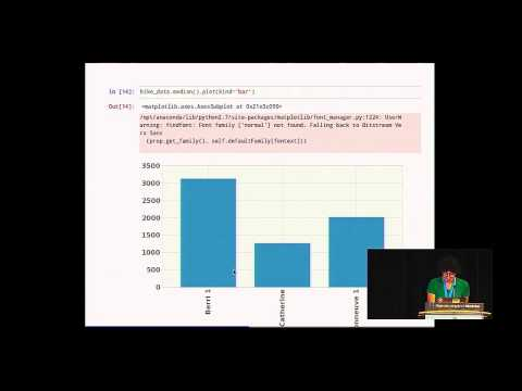 Julia Evans: Diving into Open Data with IPython Notebook & Pandas - PyCon 2014