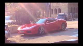 Montage de voitures de luxe à St Tropez!