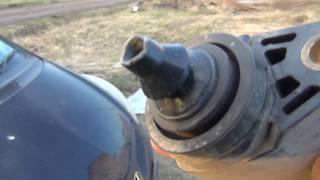 Пробило катушку зажигания, мотор троит, вариатор вылетает