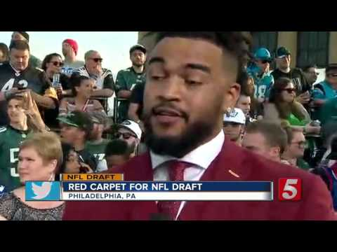 NFL Draft: Red Carpet Preview