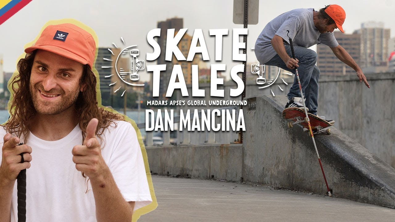 Relearning How To Skate After Going Blind With Dan Mancina  |  SKATE TALES Ep 3