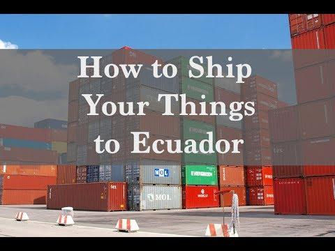 How to Ship Your Things to Ecuador - Ecuador Insider Podcast #35