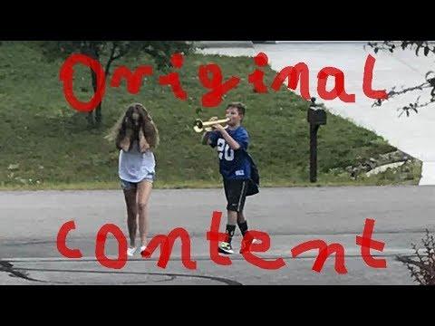 "Original Content ""Trumpet Boy''"