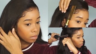 WATCH ME INSTALL & STYLE THIS WIG | Hair By Belle Bree Hair