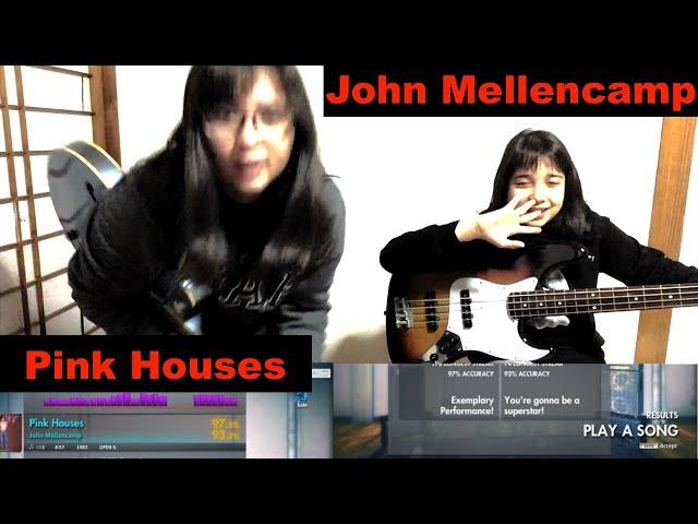 #Rocksmith - John Mellencamp - Pink Houses - guitar + bass