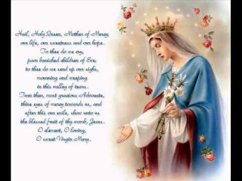 Hail Holy Queen Enthroned Above May Crowning Song