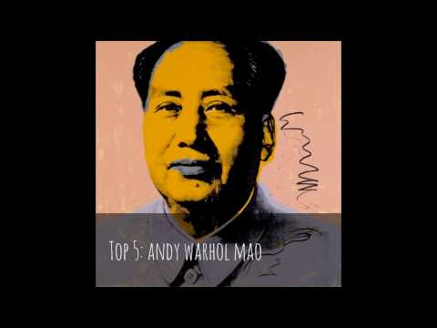 Top 10 Andy Warhol Famous Paintings