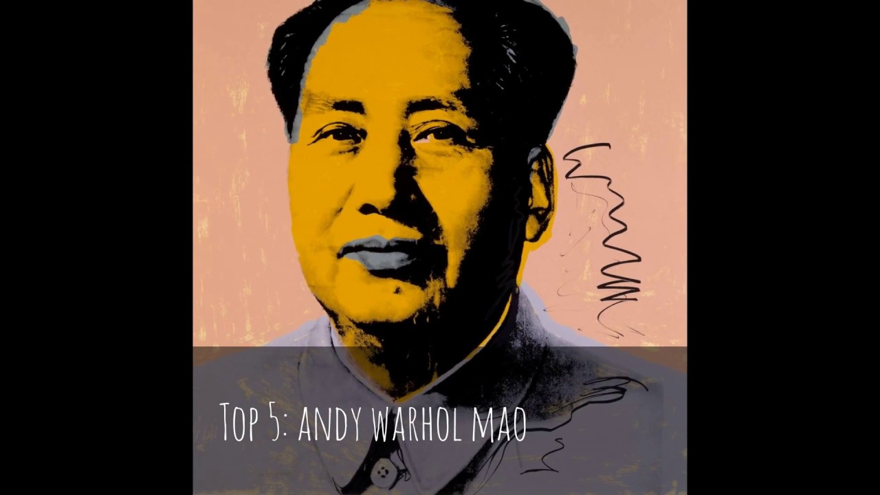top 10 andy warhol famous paintings youtube