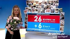 Ziehung der Lottozahlen vom 30.05.2020