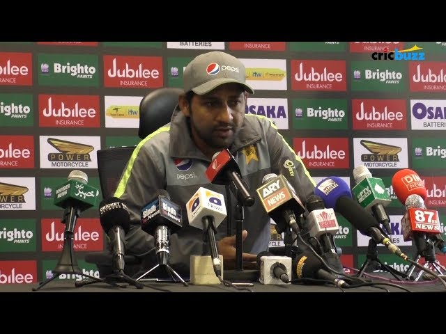 All the right players have been selected and the team looks strong - Sarfraz Ahmed