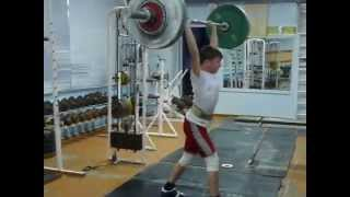 Хафизов Илья,15 лет, вк 42 Точок 70 кг