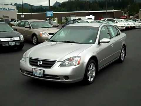 Sold 2002 Nissan Altima 2 5s Silver Enumclaw Seattle