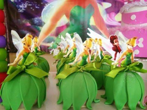 Ideias Decoração e Lembrancinhas Festa Aniversário Sininho  Tinker Bell