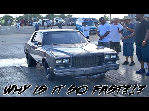 WHY IS IT SO FAST?!? INSANE FULL EXHAUST MONTE CARLO THAT MEANS BUSINESS!