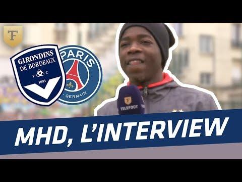 L'interview foot du rappeur MHD