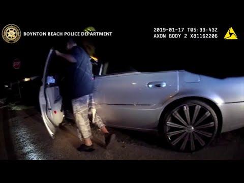 Bodycam footage shows officer being dragged by car in Boynton Beach