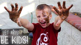 Messy Messy Backyard Mud Play thumbnail