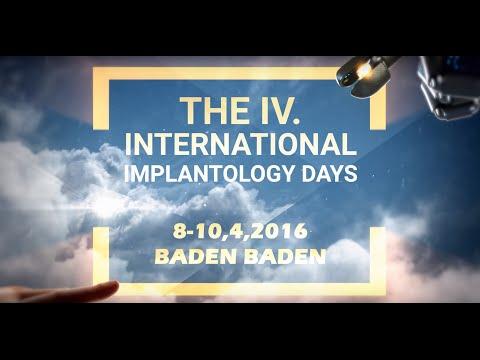 IV. International Implantology Days