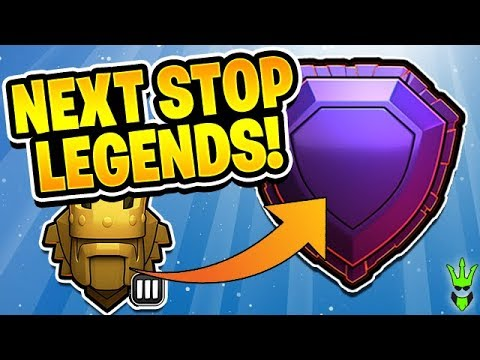 NEXT STOP LEGENDS LEAGUE! - TH10 in Titans League! - Clash of Clans