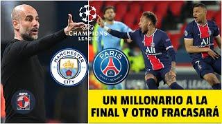 CHAMPIONS Manchester City vs PSG. Guardiola en ventaja, Neymar y Mbappé a remontar | Fuera de Juego