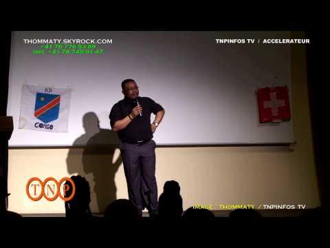 [TnpInfos] Félix Junior Mbayi Kalombo L'IMMIGRE INTEGRE A GENEVE