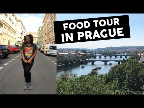 FOOD TOUR IN THE CZECH REPUBLIC | #travelvlog