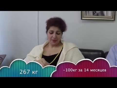 Нонна Мульгинова похудела на 100 кг