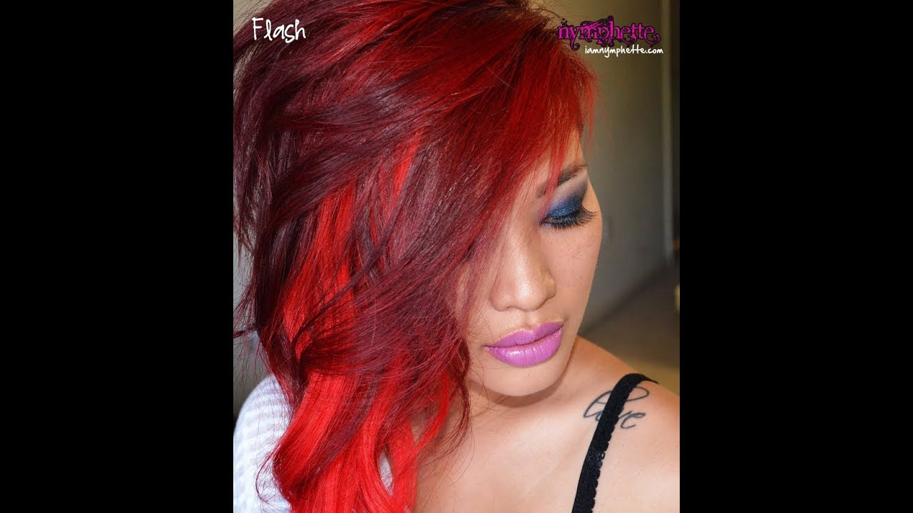 How To Get Dark Hair Vibrant Red Wo Prebleaching Amp A Nondamaging Color F