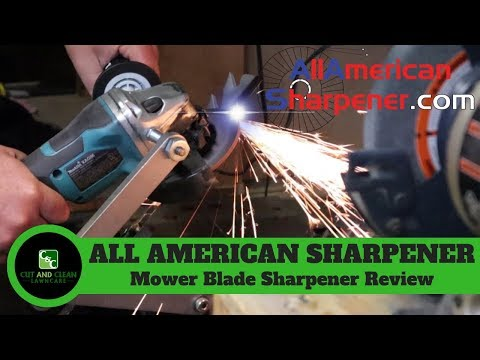 All American Blade Sharpener | Lawn Care Review