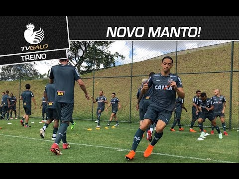NOVO MANTO! Confira imagens do primeiro treino com os uniformes 2018