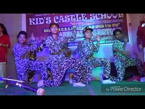Jalwa Tera Jalwa/Hindustan Ki Kasam Performance By Group Dance Students/please Like Share & Subscrib