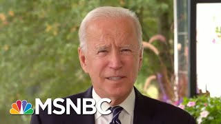 Joe Biden Criticizes Trump For 'Irresponsible, Outrageous Attacks On Voting' | MSNBC