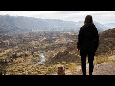 COLCA CANYON: DER ZWEITTIEFSTE CANYON DER WELT • Peru • Weltreise Vlog 176