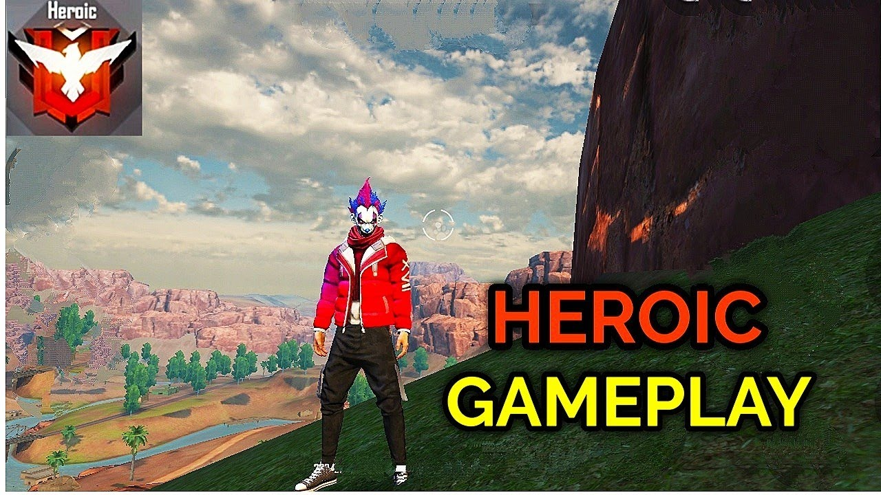 FREE FIRE HEROIC GAMEPLAY BOOYAH മുഖ്യം 🔥 HEROIC GAMEPLAY TIPS AND TRICKS #AKFREEFIRE