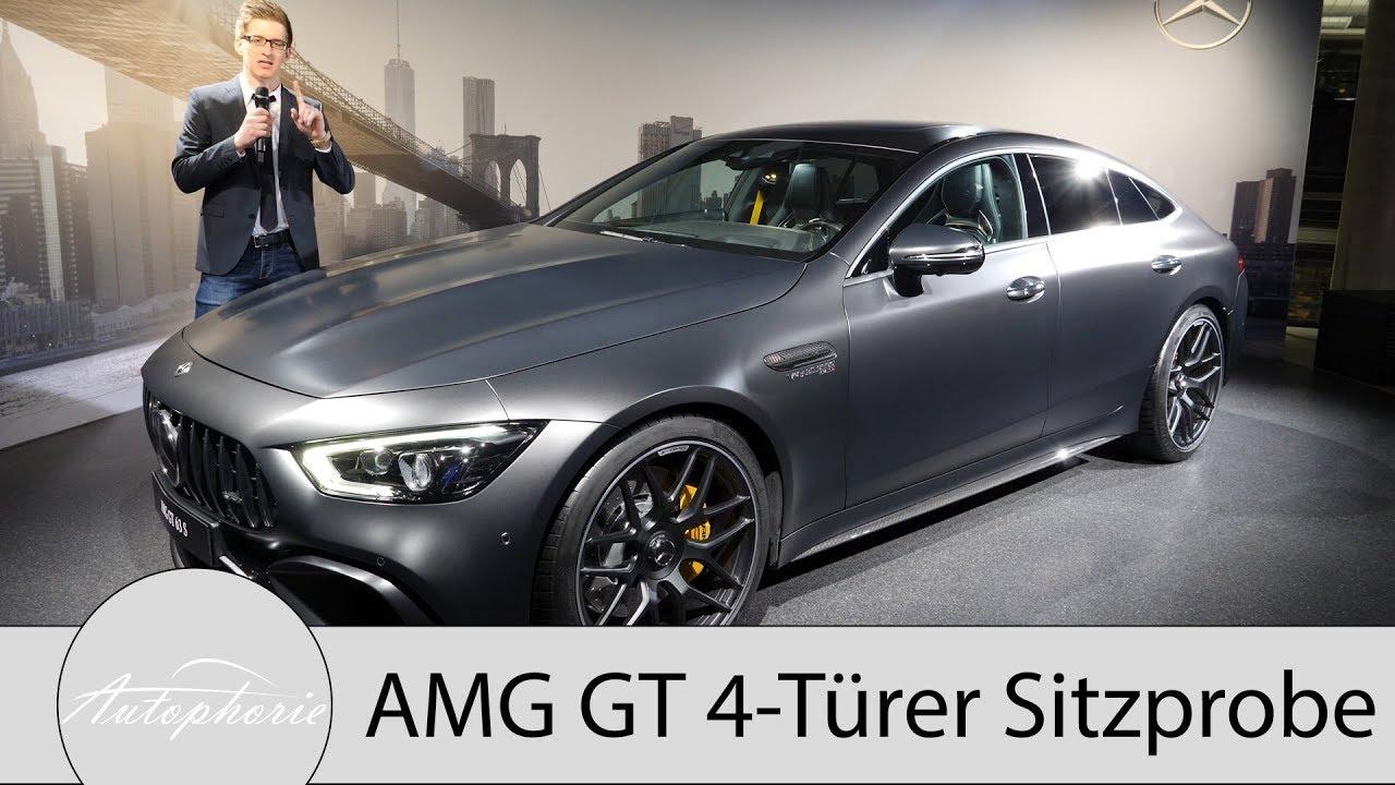 mercedes-amg gt 4-türer: sitzprobe und design im detail - autophorie